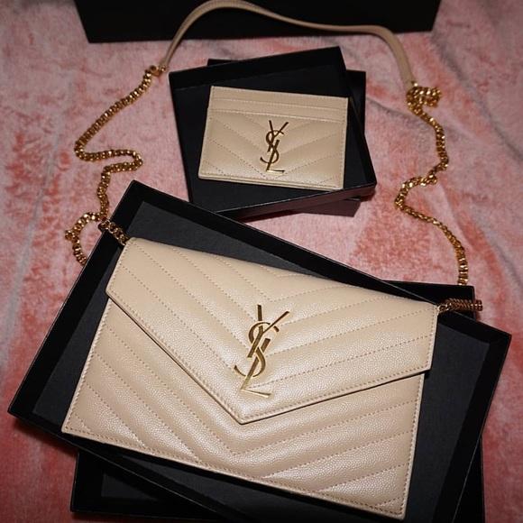 Yves Saint Laurent Handbags - ❣️FIRM PRICE *updated*❣️Crossbody & Card Case !!